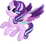 Starlight Glimmer Rainbow Wings (Mlp movie vector)