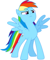 Rainbow Dash Vector #1 by N0KKUN