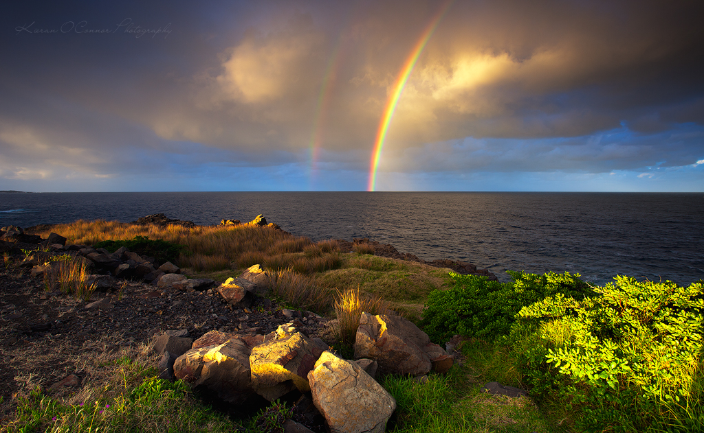Rainbow Glow by InnerComa