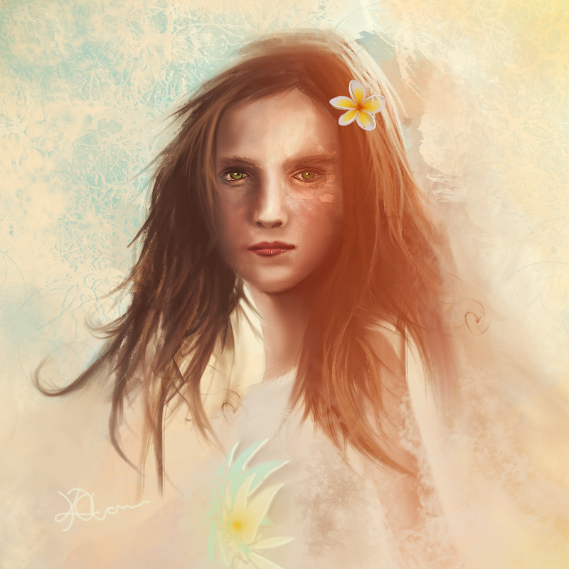 Flower Girl by InnerComa