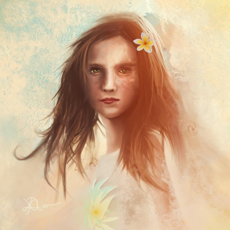 Flower Girl by InnerComa