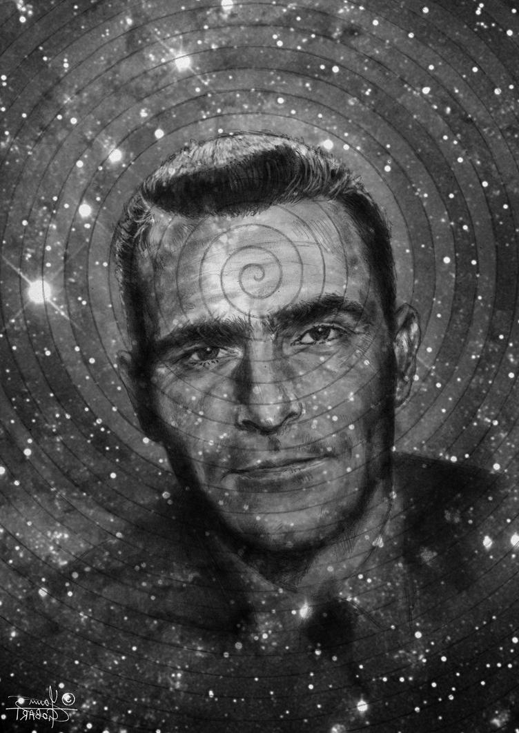 Rod Serling by YannGOBART