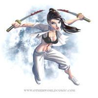 Katlyn Liu by Mechabadger