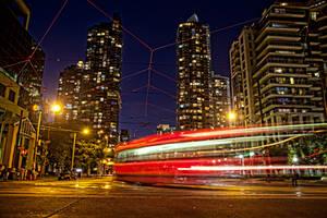Midnight Tram by yaelperez