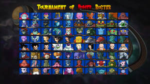 Dragon Ball Super: Tournament of Power Roster