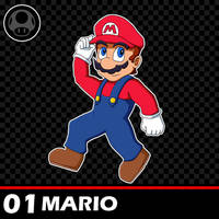 01 - Mario (Ultimate Roster Project) by Zyphyris