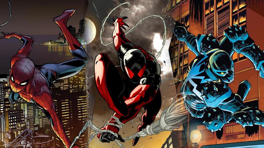 Three Spider-Men by deadwade11
