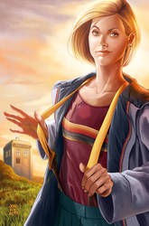 13TH DOCTOR pink t-shirt