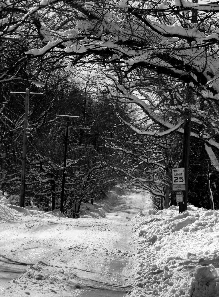 A Snowy Way by H0llist3r