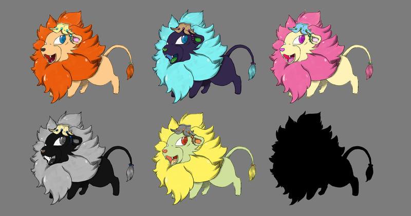 [Rarr~] lion chibi by CainamSpine