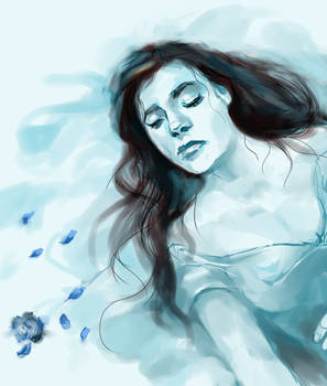In frozen sleep