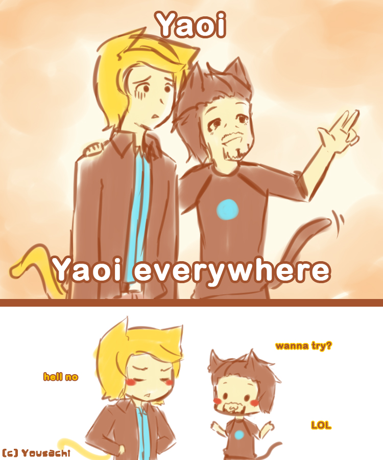 Avengers - 011 Yaoi everywhere by Yousachi