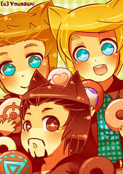 Avengers - 020 Donuts by Yousachi