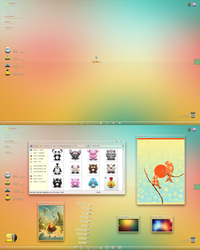 Colorful Delight III by Scott-Evo