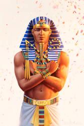 Alexander, son of Amun by JFoliveras