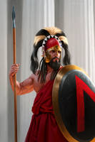 Agis III of Sparta by JFoliveras