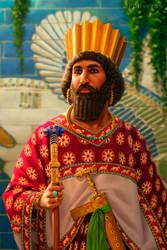 Darius III of Persia by JFoliveras