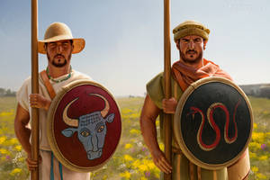 Macedonian phalangites by JFoliveras