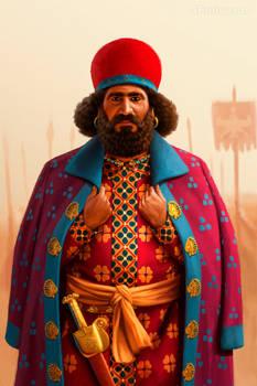 Persian officer