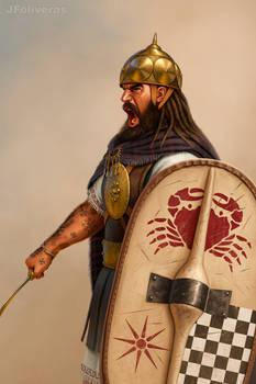 Illyrian warrior