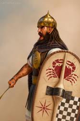 Illyrian warrior by JFoliveras