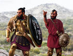 Carthaginian officer and Libyan mercenary