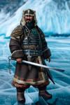 Xiongnu chieftain by JFoliveras