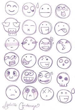 Chibi Facial Expressions
