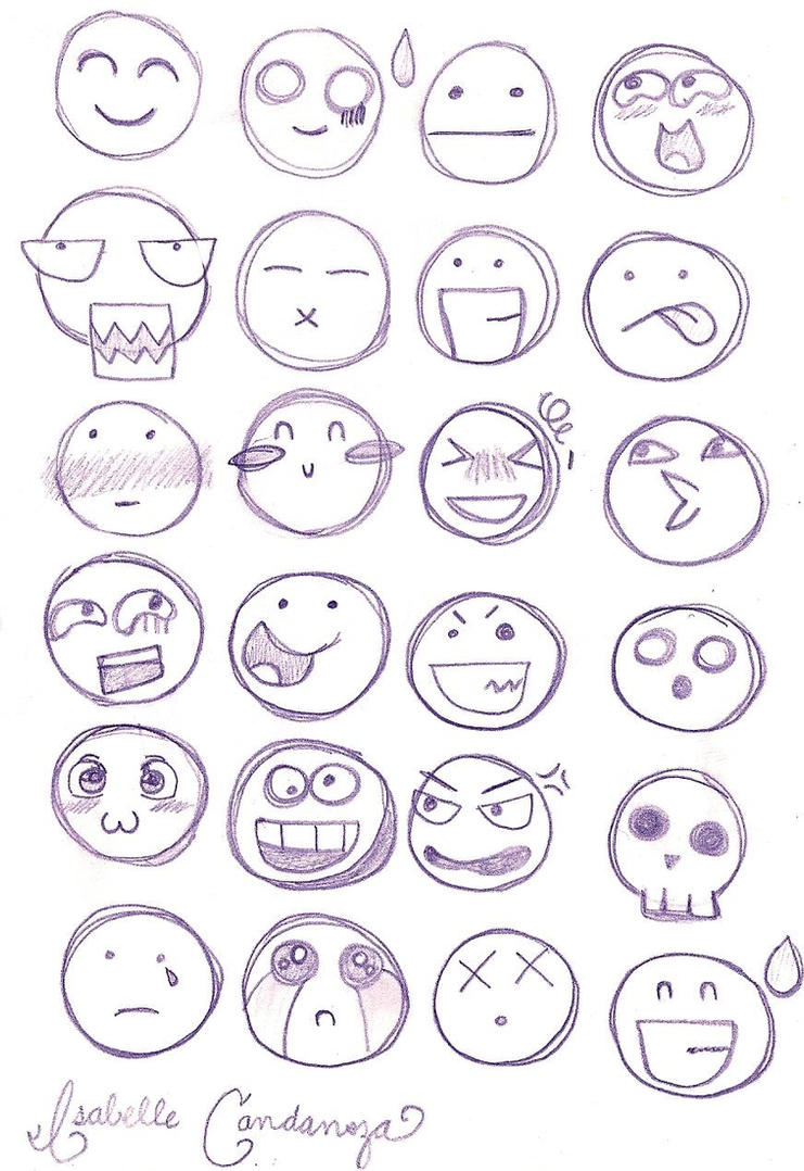 Chibi Facial Expressions by HeyIzzy11Chibi Expressions