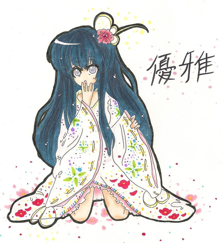 Rika Furude Kimono by HeyIzzy11
