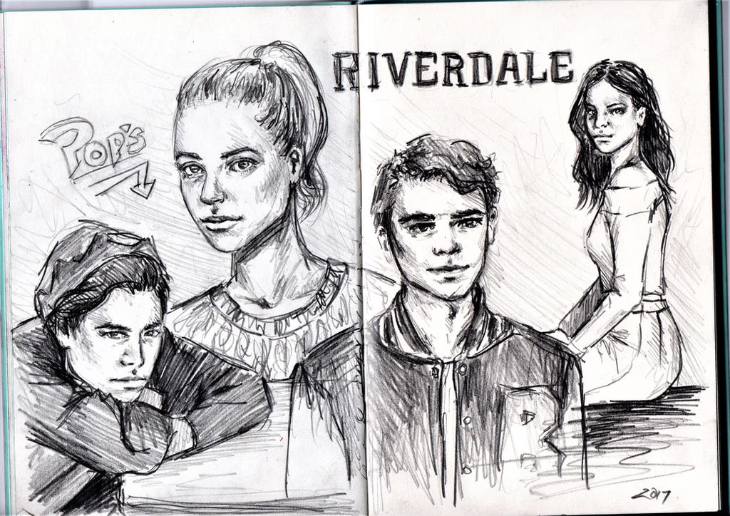 Riverdale Sketch by steph--95