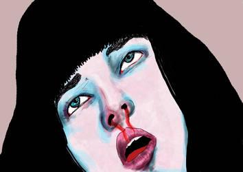 Mia Wallace by Punk-Drawordie