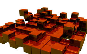 Invasion of cubes by Holowood