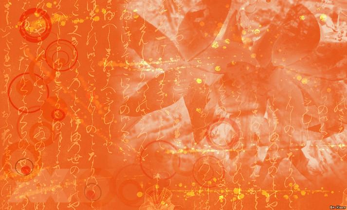 Orange Texture by Kioky-Chan