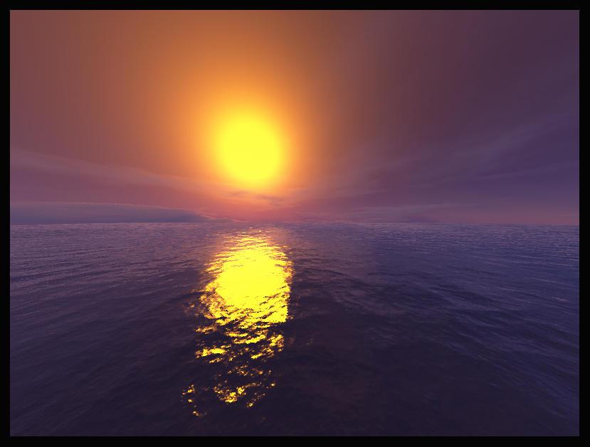 The Amaranthine Sunset by raheel07