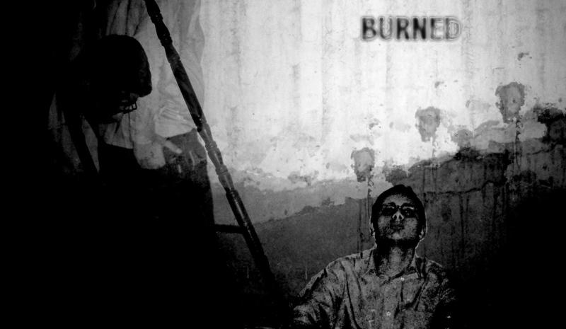 Burned by raheel07