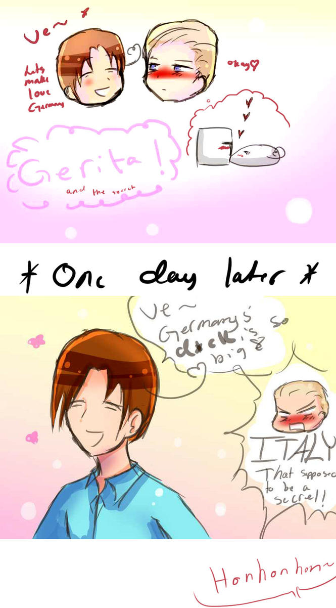 AT: Gerita- Love making secret by Quenixy