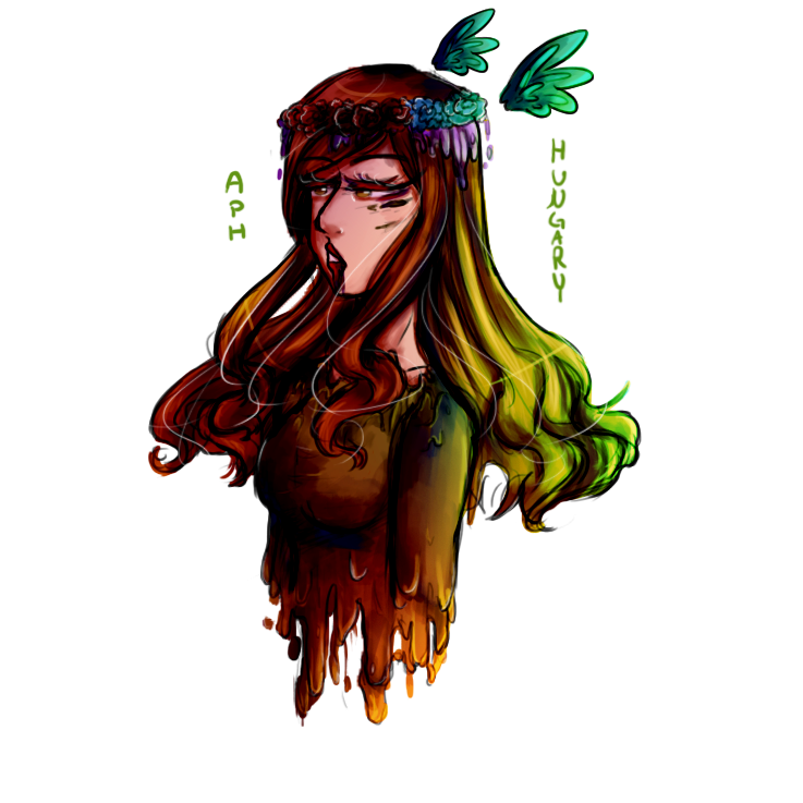 So I did a thing- aph hungary by Quenixy