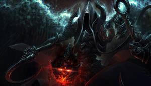 Immortal soul set in stone by Deeedge
