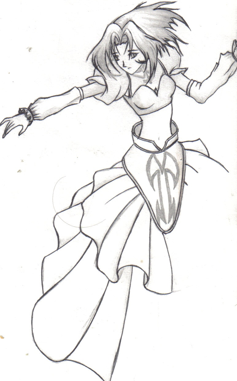 N Anime Character : An anime character by koffeaphreak on deviantart