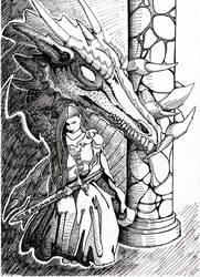 Jen Dragon by Sydney-Carton
