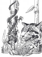 Dragon on a Stick by Sydney-Carton