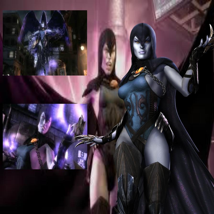 Injustice Raven by BatNight768