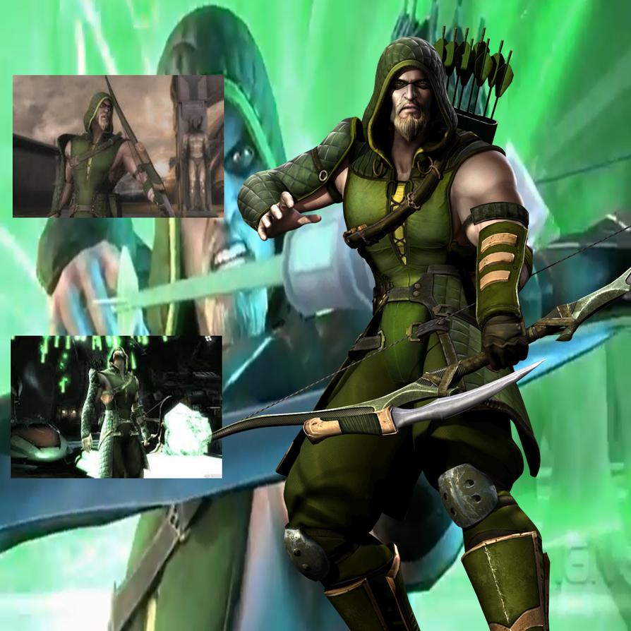 Injustice Green Arrow By BatNight768