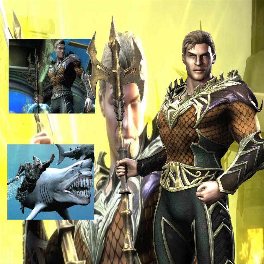 Injustice Aquaman by BatNight768 on DeviantArt