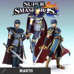 Super Smash Bros Marth