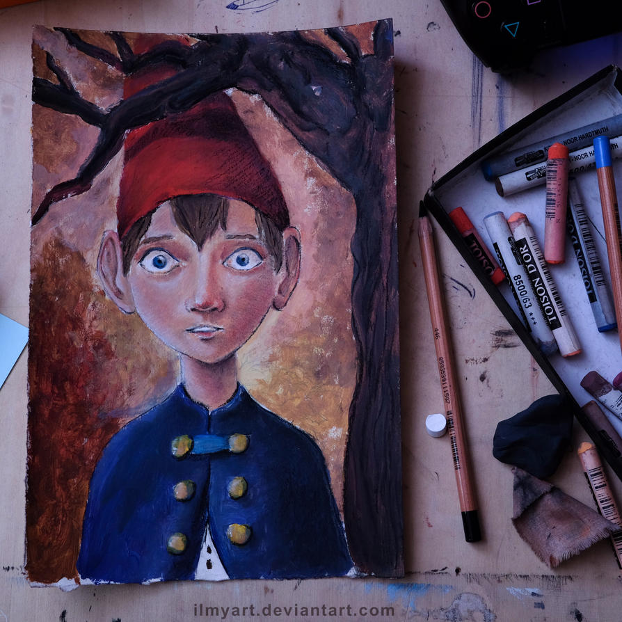 Over The Garden Wall: Wirt by ilmyart