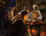 A Long-expected Party (Gandalf and Bilbo)