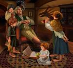 The bad nanny (hobbits)