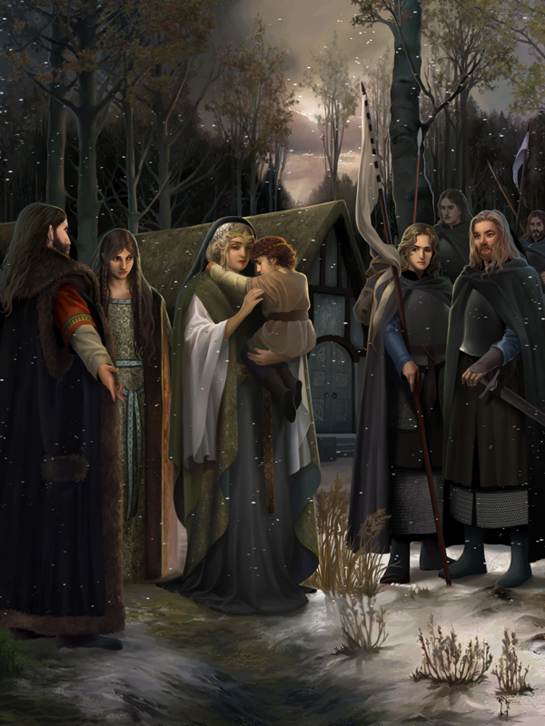 Christopher Tolkien And JRR Tolkien Of The Darkening Of Valinor And The Flight Of The Noldor
